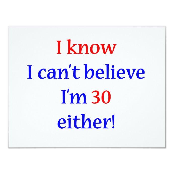 30 Either 11 Cm X 14 Cm Invitation Card