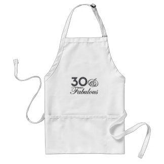 30 & Fabulous Gift Standard Apron