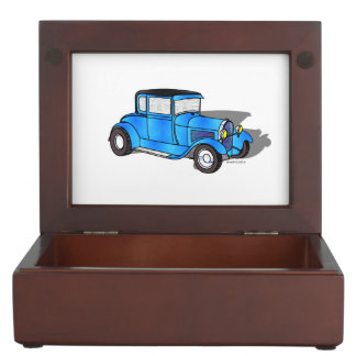 30 Ford 5 Window Model A Coupe Keepsake Boxes