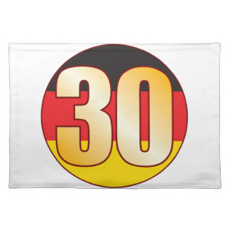 30 GERMANY Gold Placemat