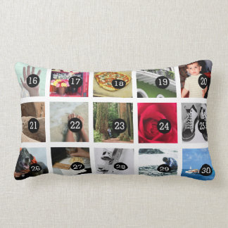 30 images album with your photos easy step by step lumbar cushion