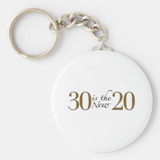 30 is the new 20 key ring