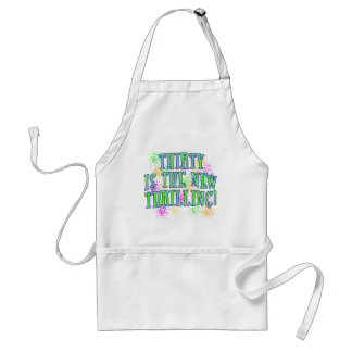 30 is the New Thrilling Products Standard Apron