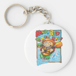 30_mad basic round button key ring
