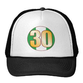 30 NIGERIA Gold Cap