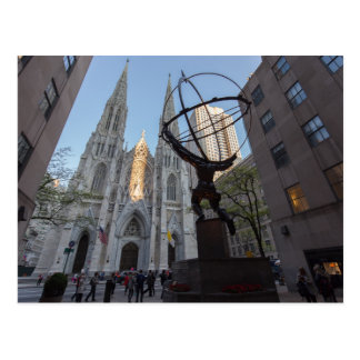30 Rockefeller Plaza in NYC Postcard
