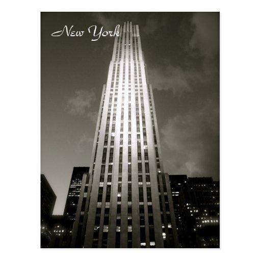 30 Rockefeller Plaza Postcards
