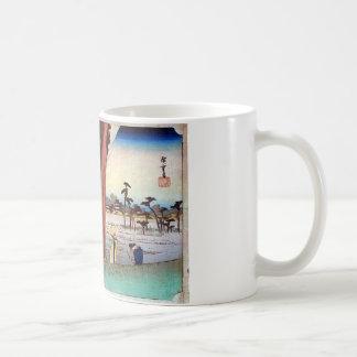 30. The Hamamatsu inn, Hiroshige Coffee Mug
