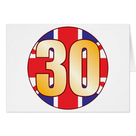30 UK Gold Card