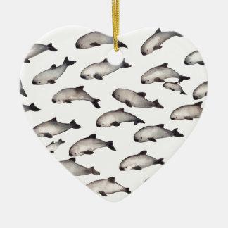 30 vaquita porpoise dolphin christmas ornament
