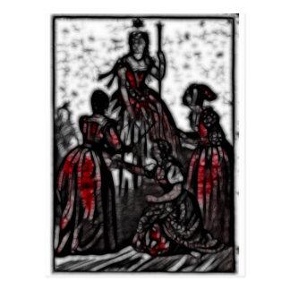 30 - Widow Queen Post Card
