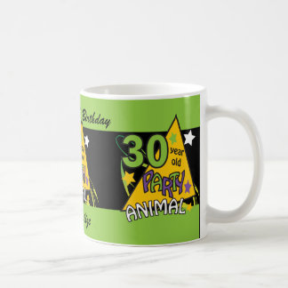 30 Year Old Party Animal Coffee Mugs