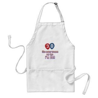 30 year old women designs standard apron