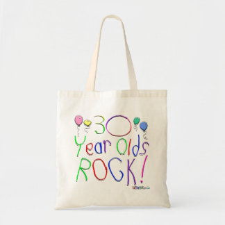 30 Year Olds Rock ! Canvas Bag