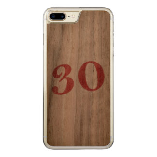 30 years anniversary carved iPhone 8 plus/7 plus case