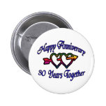 30 Years Together Pin