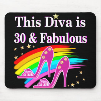 30 YR OLD SHOE QUEEN MOUSE PAD