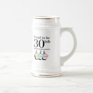 30ish Birthday Beer Stein
