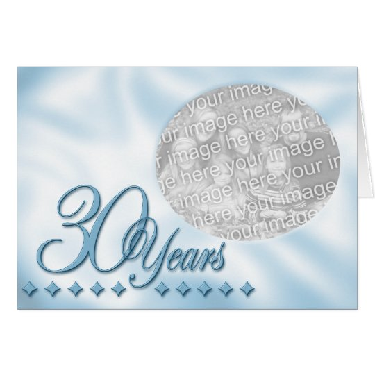 30th Anniversary Template Card