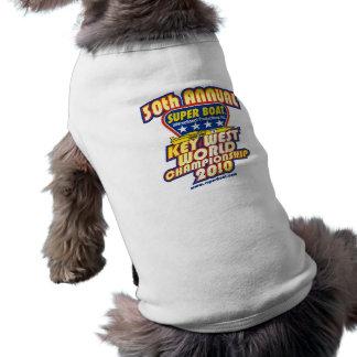 30th Annual Key West World Championship Sleeveless Dog Shirt