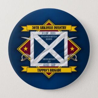 30th Arkansas Infantry 10 Cm Round Badge