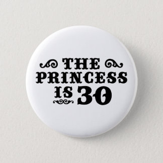 30th Birthday 6 Cm Round Badge