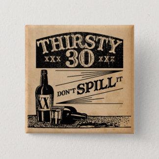 30th Birthday Button