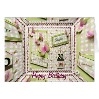30th Birthday Daughter Greeting Card