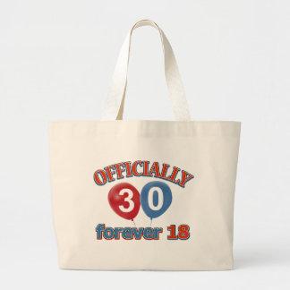 30th birthday designs bag