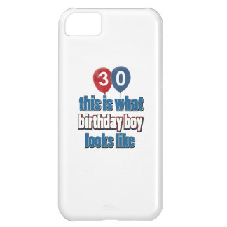 30th birthday designs iPhone 5C case