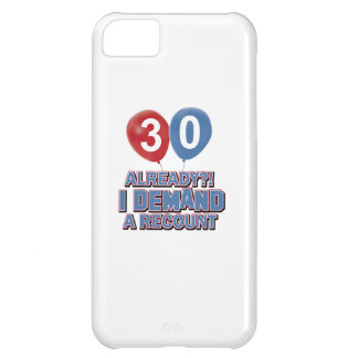 30th birthday designs case for iPhone 5C