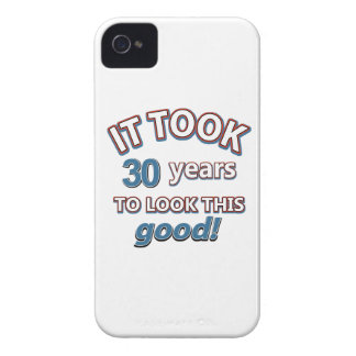 30th birthday designs iPhone 4 cases