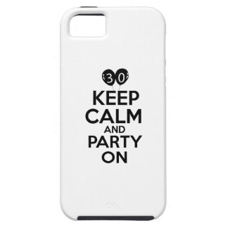 30th birthday designs iPhone 5 cases