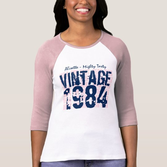 30th Birthday Gift Best 1984 Vintage Grunge V007