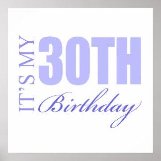 30th Birthday Gift Idea Poster