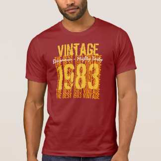 30th Birthday Gift Vintage 1983 or Any Year G11 T Shirt