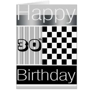 30th Birthday Greeting Card
