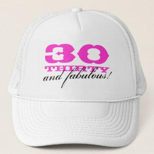 30th Birthday Hats Caps