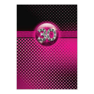 30th birthday party invitations - CUSTOMIZE