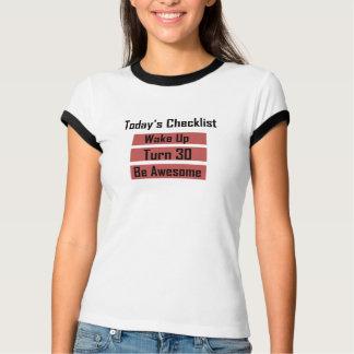 30th Birthday Shirt