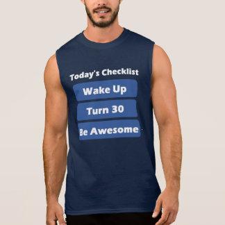 30th Birthday Sleeveless Shirts