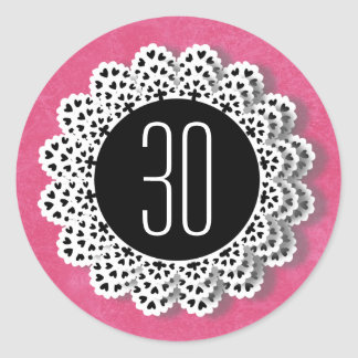 30th Birthday Sticker for Her V009C