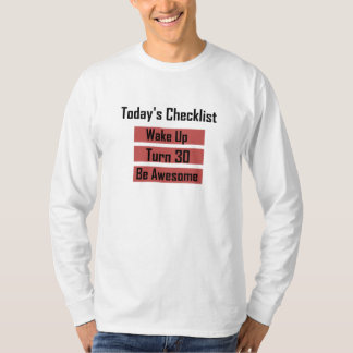 30th Birthday Tee Shirt
