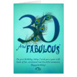 30th Birthday template Cards