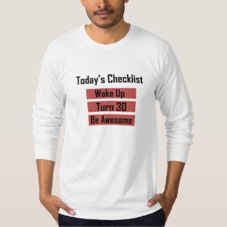 30th Birthday Tshirts