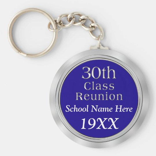 30th Class Reunion Gifts with Your TEXT and