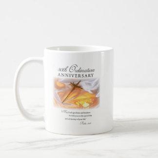 30th Ordination Anniversary, Cross Candle Coffee Mug