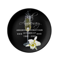 30th Pearl Wedding Anniversary Commemorative Plate