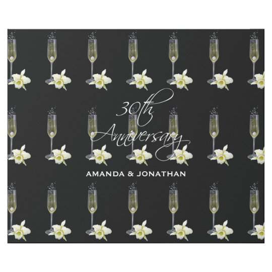Gifts For A Pearl Wedding Anniversary: 30th Pearl Wedding Anniversary Party Gift Wrapping Paper