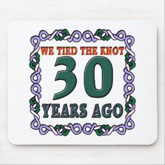 30thweddinganniversary mouse pad